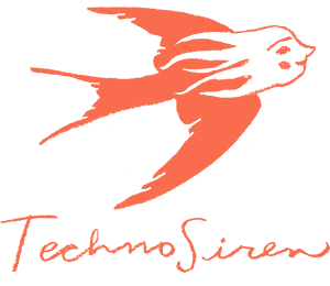 TechnoSiren Logo by Penelope Dullaghan